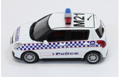 Suzuki Swift Australia Melbourne Police Car 2010