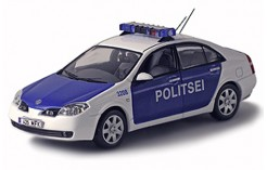 Nissan Primera Estonia Police Car 2004 - White/Blue