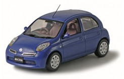 NISSAN Micra Facelift Wild Blueberry 2006