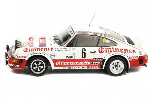 PORSCHE 911 SC #6 B. Waldegard-H. Thorszelius  Rally Monte Carlo 1982