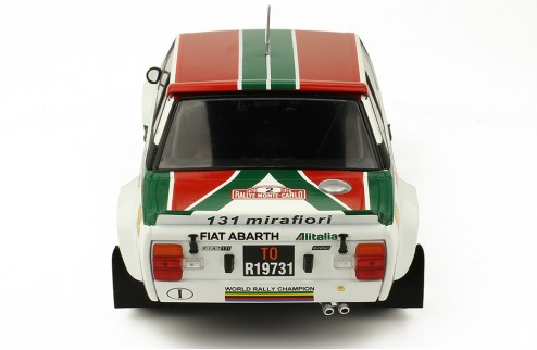 FIAT 131 Abarth #2 Rally Monte Carlo 1978