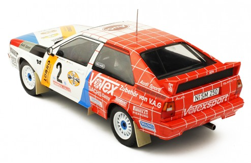 AUDI Quattro #2 Harald Demuth - Willy Lux Hansruck Rally 1984