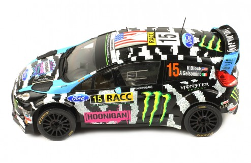 FORD FIESTA RS WRC #15 K. Block-A. Gelsomino Rally Catalunya 2014