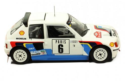 PEUGEOT 205 T16 #2 A. Vatanen -T. Harryman Rallye Monte Carlo 1985