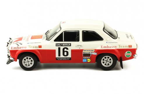 FORD Escort MK1 RS 1600 #16 T. Makinen - H. Liddon RAC Rally 1971