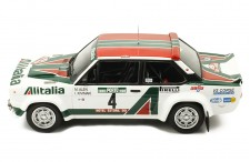 FIAT 131 Abarth #4 M. Alén-I. Kivimäki Rally Portugal 1978