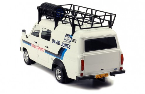 FORD TRANSIT MK II 1979 -RALLY ASSISTANCE DAVID SUTTON (WITH ROOF ACCESSORIES)