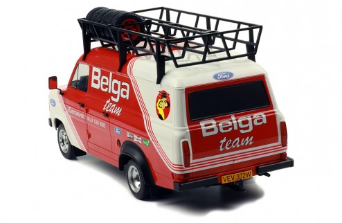 FORD TRANSIT MK II 1979 -RALLY ASSISTANCE BELGA (WITH ROOF ACCESSORIES)