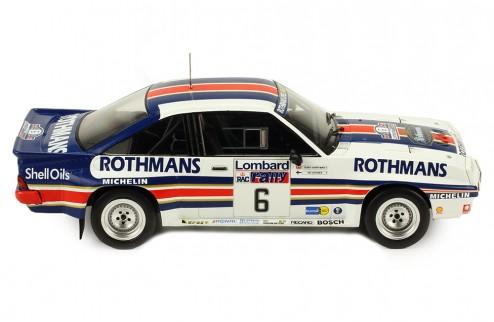 OPEL MANTA 400 #6 A. VatanenT. Harryman RAC Rally 1983