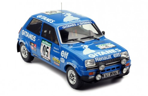 RENAULT 5 Apline #5 G. Frequelin-J. Delaval  Rally Bandama 1978