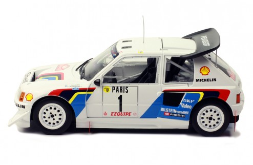 PEUGEOT 205 T16 E2 #1 T. Salonen-S. Harjanne Rally Monte-Carlo 1986