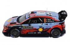 HYUNDAI i20 Coupe WRC #8 O. Tänak-M. Järveoja Rallye Monte-Carlo 2020