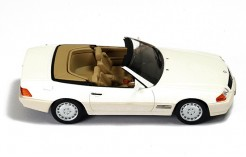 Mercedes SL500 (R129) 1990 Pearl White (with Beige interiors)
