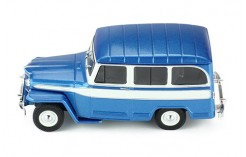 WILLYS JEEP Station Wagon - 1960 Metallic Blue and White