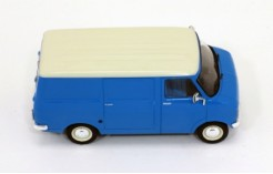 Opel Bedford Blitz 1975 (Light Blue - Cream Wheels & Cream Grill)