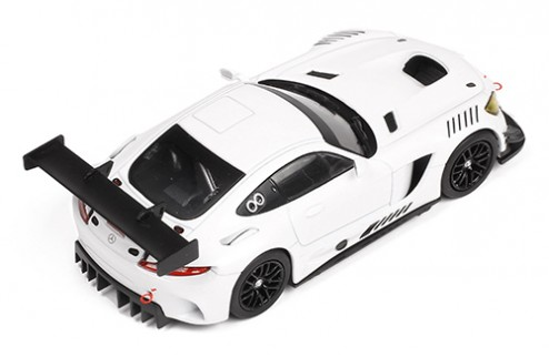 MERCEDES AMG GT3 Race Version White