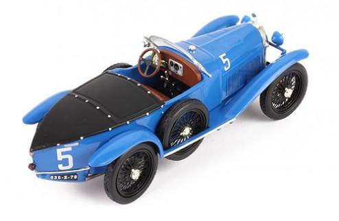 Lorraine-Dietrich B3-6 #5 G. de Courcelles. A. Rossignol Winner Le Mans 1925