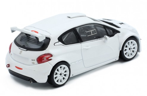 PEUGEOT 208 T16 Rally Spec - All white