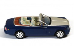 Rolls-Royce Phantom Drophead Coupe 2007 Blue - Dark White interiors