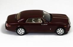 Rolls Royce Phantom Coupe Rot BRaun Ab 2007 MOC164 1//43 Ixo Modell Auto mit od..
