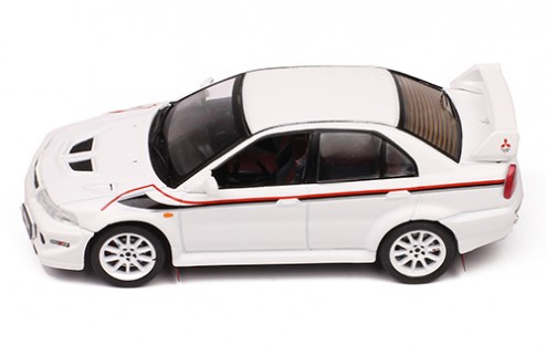 "MITSUBISHI Lancer EVO 6 TME RS (Tommy Makinen Edition) ""Ralliart"" White 2000"