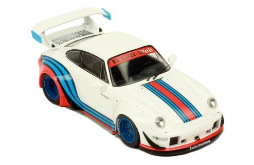 RWB 993 White (with Martini stripes)