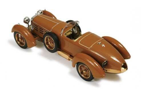 Hispano Suiza H6 Tulip Wood 1924 Brown (Wood Effects)