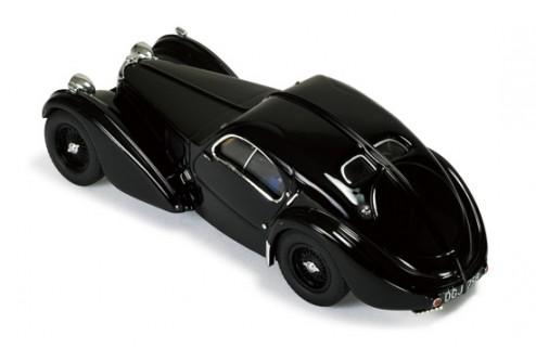 Bugatti Type 57S Coupe Atlantic 1938 Black (Blue interiors)