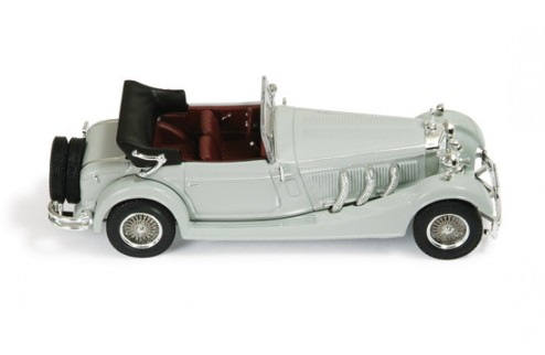 Mercedes SS 1933 Grey (with Bordeaux interiors
