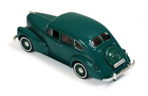 Opel Kapitan 4-Door Sed - Green - 1939