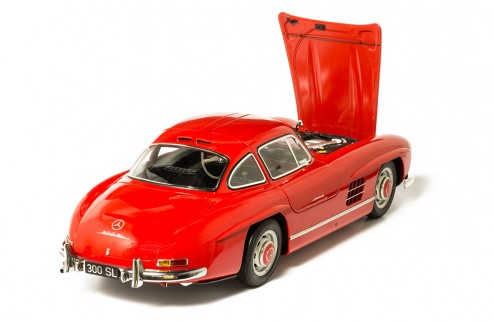 MERCEDES-BENZ 300 SL 1954 Red