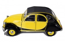 Citroën 2CV Charleston - Yellow and Black - 1/8 SCALE