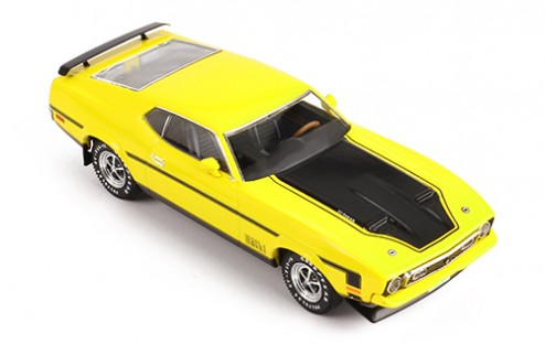 FORD MUSTANG MACH 1 1971 Yellow