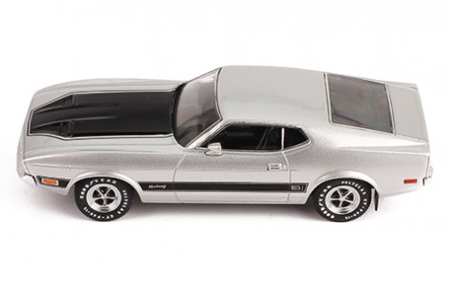 FORD MUSTANG MACH 1 1973 Silver