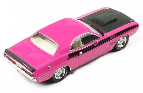 DODGE Challenger T/A 1970 Dark Pink