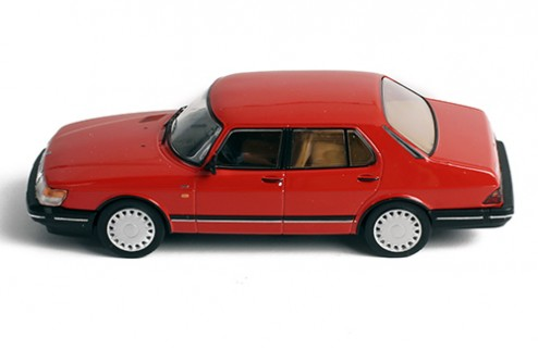 SAAB 900i TURBO 16 1987 RED