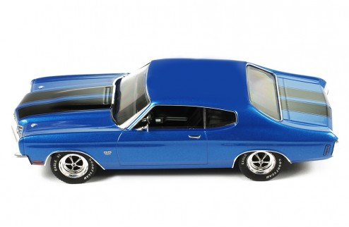 CHEVROLET Chevelle SS 1970 Metallic Blue / Black