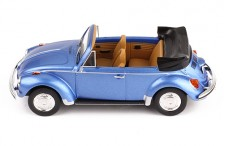 VOLKSWAGEN SUPER BEETLE 1973 CONVERTIBLE METALLIC BLUE