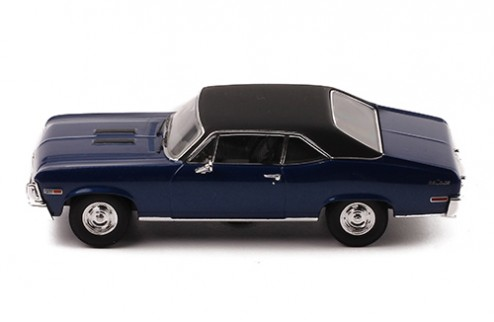CHEVROLET Nova SS 1971 Blue with black top