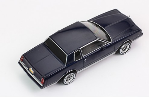 CHEVROLET MONTE CARLO - Dark Blue - 1981