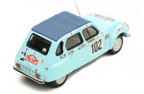 CITROËN DYANE #102 M. Peyret-J. J. Cornelli  Rallye Monte-Carlo 1976