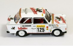 Trabant P601 #125 M. Kahlfuss-R. Bauer Rally Monte Carlo 1995