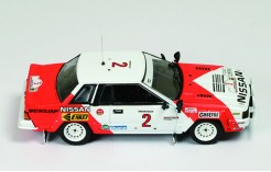 Nissan 240 RS #2 (Red & White) S. Mehta-M. Combes 5th Rally Safari 1984