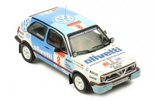VOLKSWAGEN Golf GTI 16V #8 M. Ericsson-P.Diekmann Safari Rally 1987
