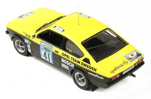 OPEL KADETT GT/E Gr. 1 #41 B. Danielsson - U. Sundberg RAC Rallye 1976