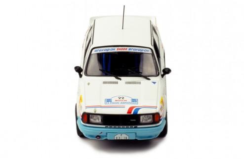 SKODA 130 LR #22 S. Kvaizar - J. Janecek Rally Acropolis 1986