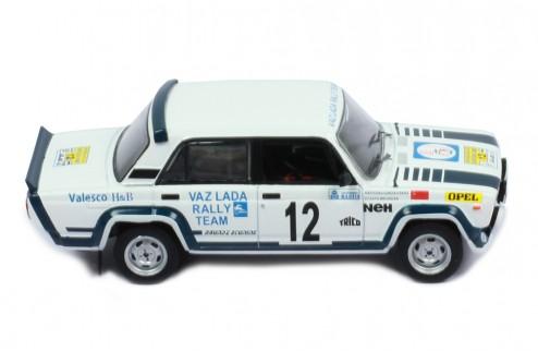 LADA 2105 VFTS #12 Brundza Stasys-Girdauskas Arvydas Rally Sweden 1983