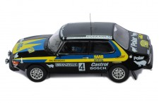 SAAB 99 EMS-#4 S.Blomqvist-H.Sylvan Swedish Rally 1977