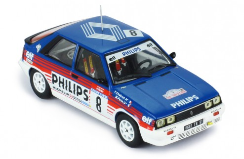 RENAULT 11 Turbo #8 F. Chatriot-M. Perin Tour de Corse 1987