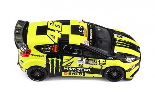 FORD FIESTA RS WRC #46 V.ROSSI-C.CASSINA WINNER MONZA RALLY SHOW 2016